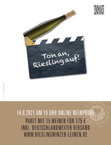 Ton an Riesling auf!